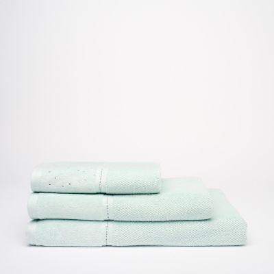 Debenhams Green Heat Set Cotton Towels