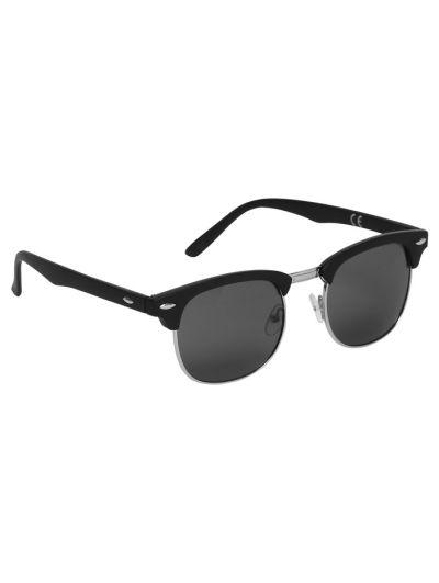 Mandco Clubmaster Black Sunglasses