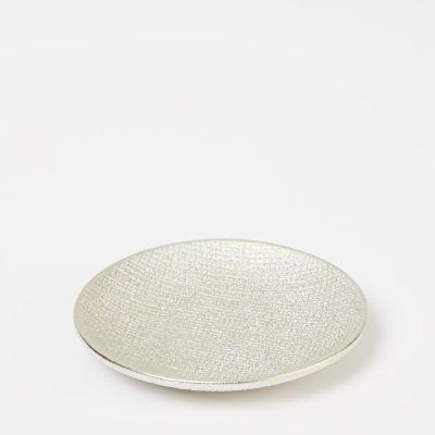 Debenhams Light Gold Textured Soap Dish