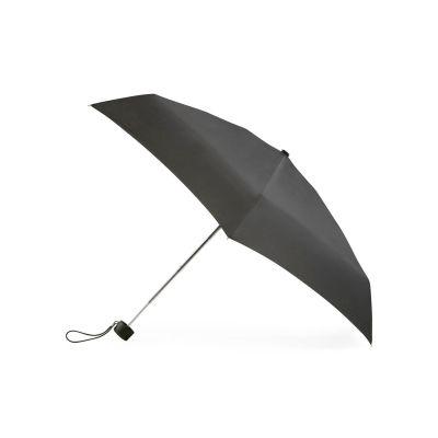 Totes Black mini 5 section compact round umbrella