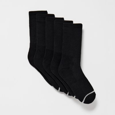 Debenhams Pack of 5 Black Sport Socks