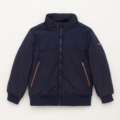 J by Jasper Conran Boys' Navy Blue Harrington Jacket
