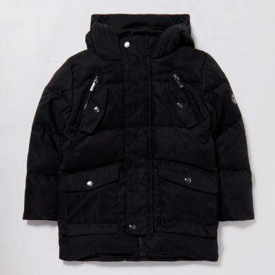 Lola & Maverick Boys' Black Padded Coat