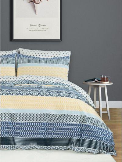Mandco Stripe Print Duvet Set