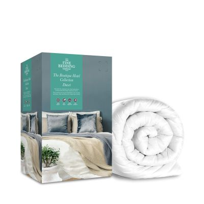Fine Bedding Company 13.5 Tog White 'The Boutique Hotel Collection' Microfibre Duvet - king