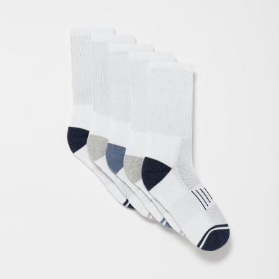 Debenhams Pack of 5 White Socks