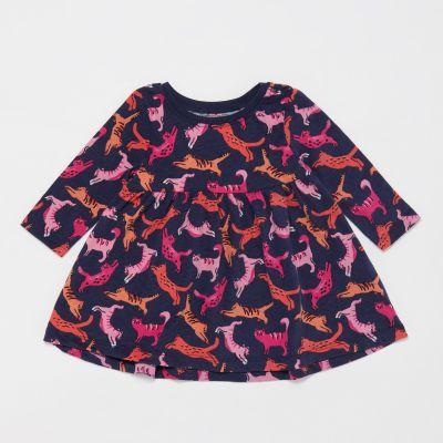 bluezoo Baby Girls' Cat Print Dress
