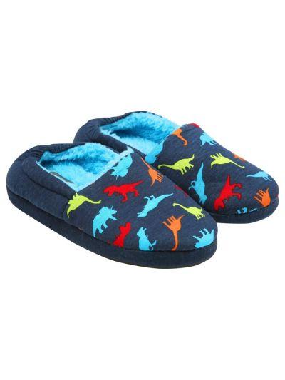 Mandco  Boys Dinosaur Slippers
