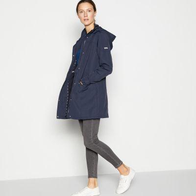 Maine New England Navy Rain Resistant Jacket