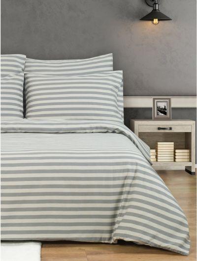Mandco Striped Duvet Set