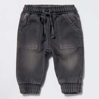 bluezoo Baby Boys' Grey Jeans