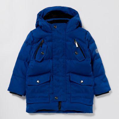 Lola & Maverick Boys' Blue Padded Coat