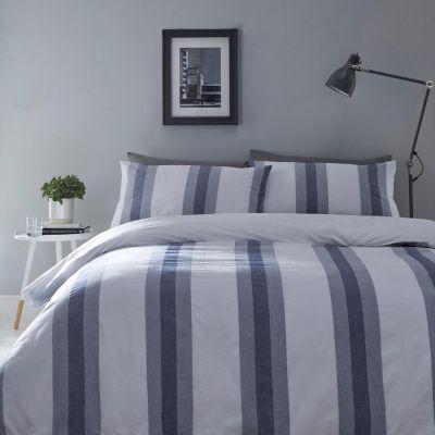 Debenhams Blue 'Jack' Jacquard Duvet Set