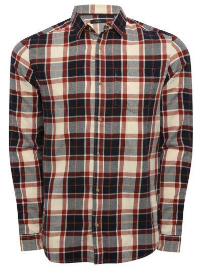 Mandco Brushed check shirt